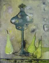 Old Kettle and pears  » Click to zoom ->