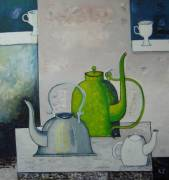 Teapots  » Click to zoom ->