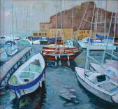 Port Santa Lucia. Naples.(SOLD)  » Click to zoom ->